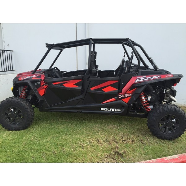 polaris rzr xp 4 1000 900 turbo lower half doors inserts 4 seat models. Black Bedroom Furniture Sets. Home Design Ideas