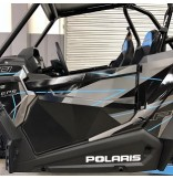 Polaris RZR XP 1000 /900 and  XP Turbo Aluminum Lower Doors Inserts  2 DOORS MODELS